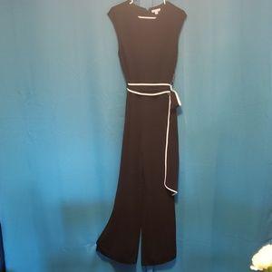 NY&Co. Black Jumpsuit
